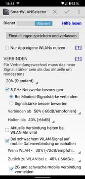 Smart WLAN Selector: verbindet zum stärksten WLAN Plakat