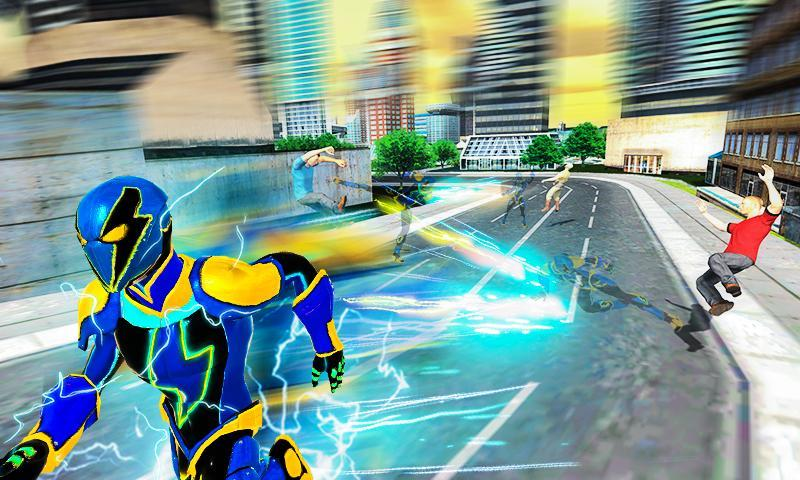 Electric Superhero Energy Jolts City Rescue 3D for Android - APK