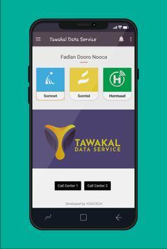 Tawakal Data poster