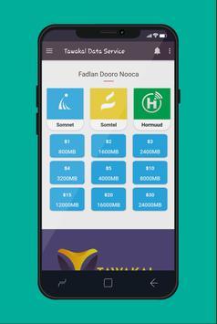 Tawakal Data screenshot 2
