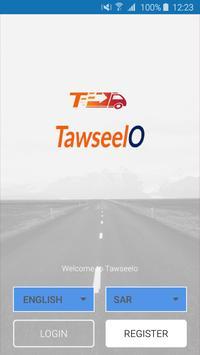 Tawseelo - Driver  للمندوب poster
