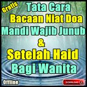 Niat Doa Mandi Wajib Junub Dan Setelah Haid icon