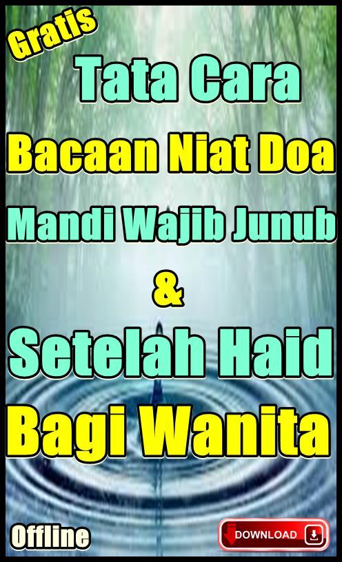 Niat Doa Mandi Wajib Junub Dan Setelah Haid für Android - APK ...