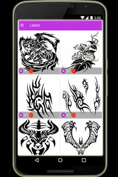 Tattoo Design screenshot 8