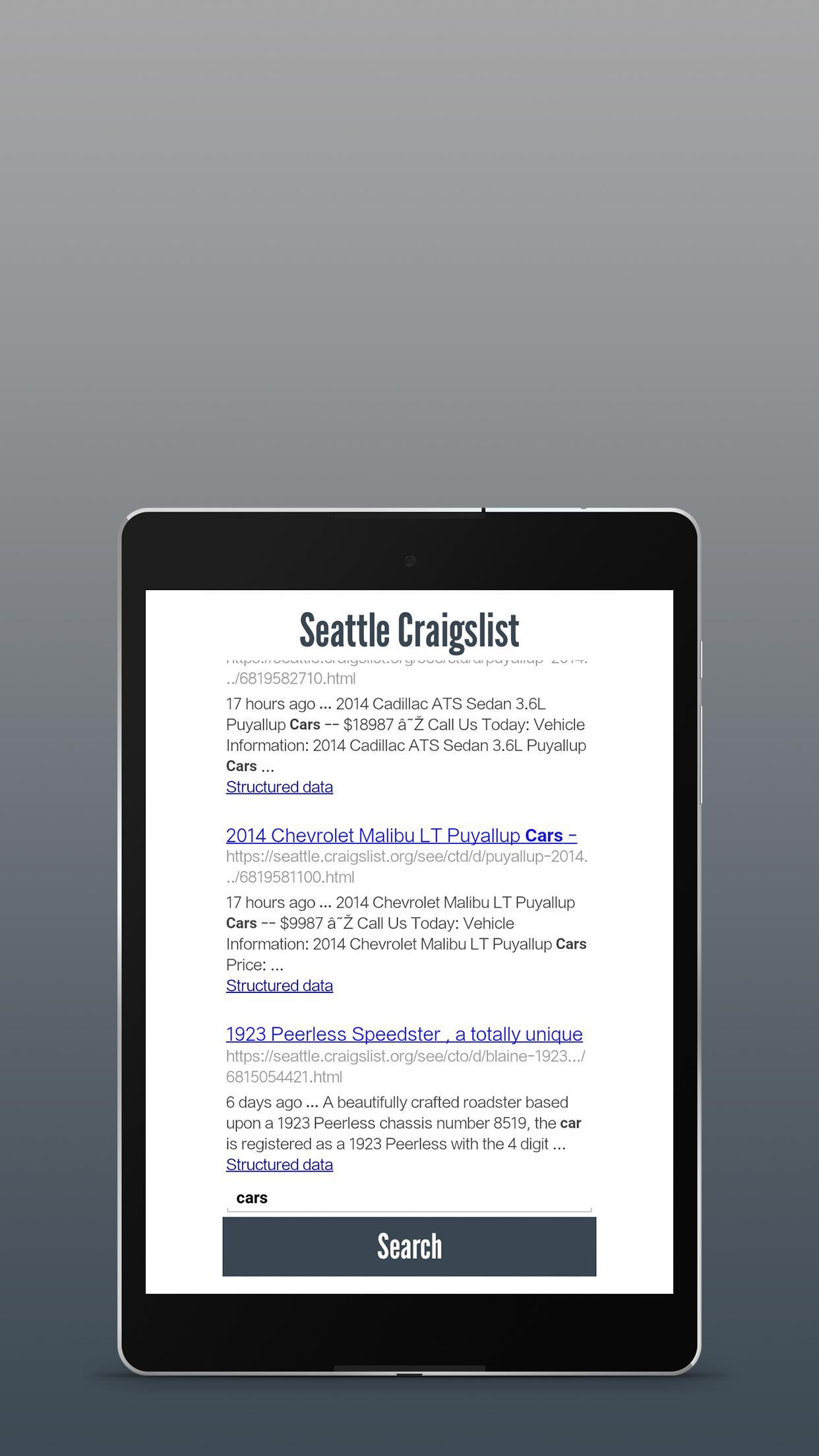 Seattle Craigslist for Android - APK Download