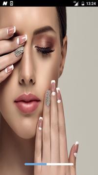 عناية وتجميل الاظافر بدون نت - العناية بالأظافر poster