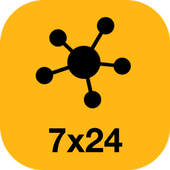 TAXI7X24 Connect icon