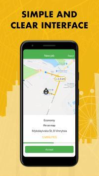 TaxiF Driver स्क्रीनशॉट 2