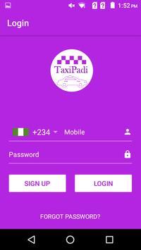 TaxiPadi Driver screenshot 1