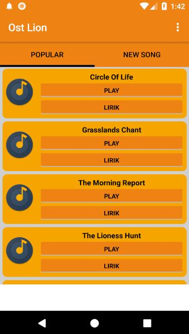 Ost The Lion King Music Soundtrack For Android Apk Download