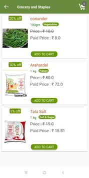 TAZA MART  - India's Online Grocery Store poster