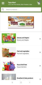 TAZA MART  - India's Online Grocery Store screenshot 2