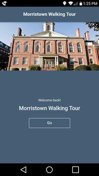 Morristown Walking Tour poster