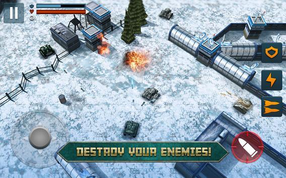 Tank Battle تصوير الشاشة 5