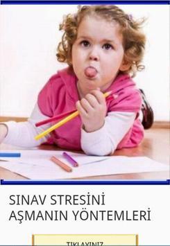 Sınav Stresini Aşmanın Yolları poster