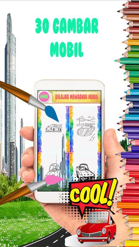Belajar Mewarnai Mobil For Android Apk Download