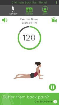 6 Minute Back Pain Relief screenshot 2