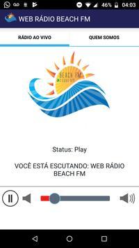 Web Rádio Beach FM 포스터