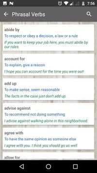 Vocabulary screenshot 2