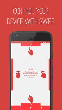 T Swipe Gestures poster