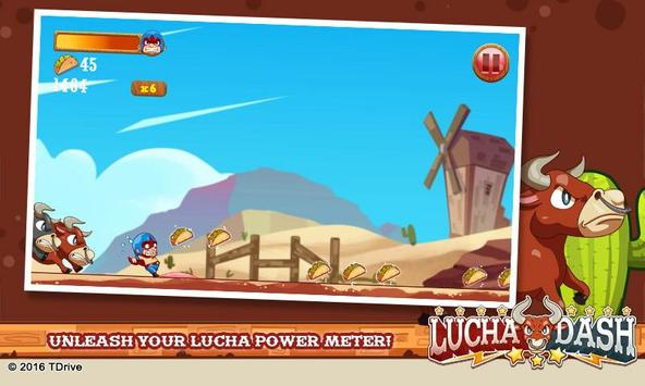 Lucha Dash screenshot 1