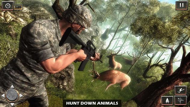 Army Commando Survival Mission poster