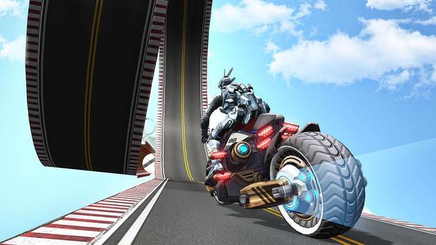 US Police Robot Bike Stunts screenshot 1