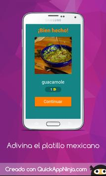 Adivina el Platillo Mexicano screenshot 1