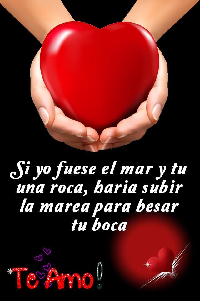 Frases Bonitas De Amor Con Imágenes Románticas для андроид