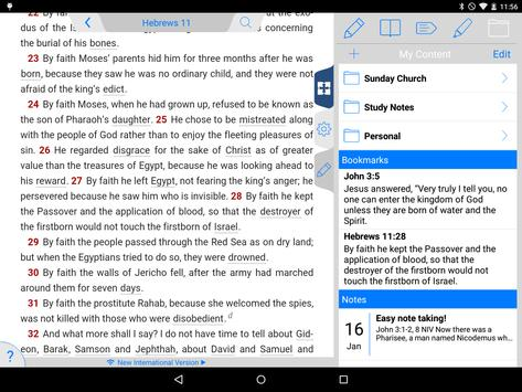 NIV 50th Anniversary Bible screenshot 13