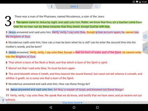 Tecarta Bible screenshot 6