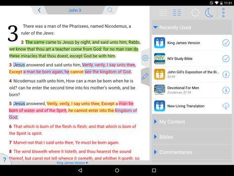 Tecarta Bible screenshot 8