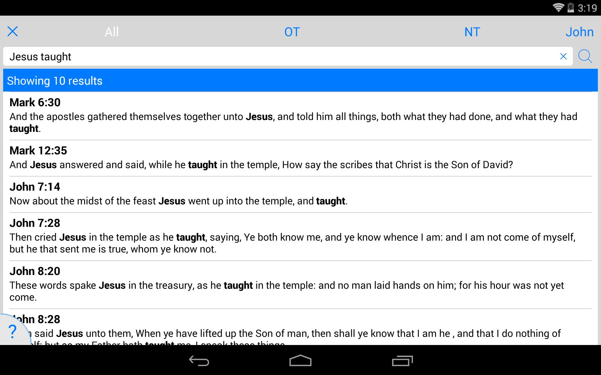 Tecarta Bible for Android - APK Download