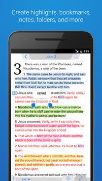 Holy Bible King James + Audio poster