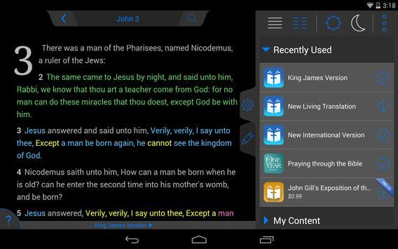 Holy Bible King James + Audio screenshot 20
