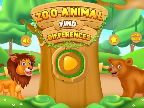 Find the Differences Pictures - Zoo Animals Games for Android - APK