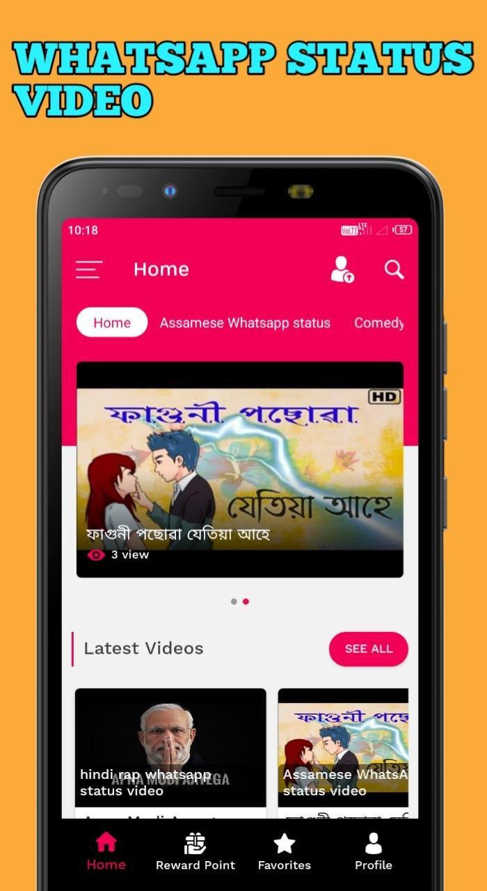 Heeu Funny Status Video Community For Android Apk Download
