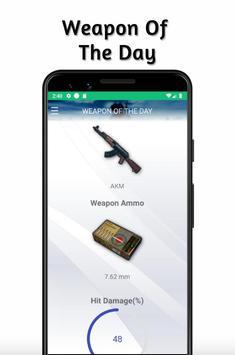 Weapons PUBG Stats Guide - Compare Guns screenshot 6