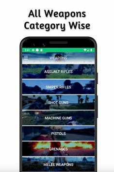 Weapons PUBG Stats Guide - Compare Guns screenshot 3