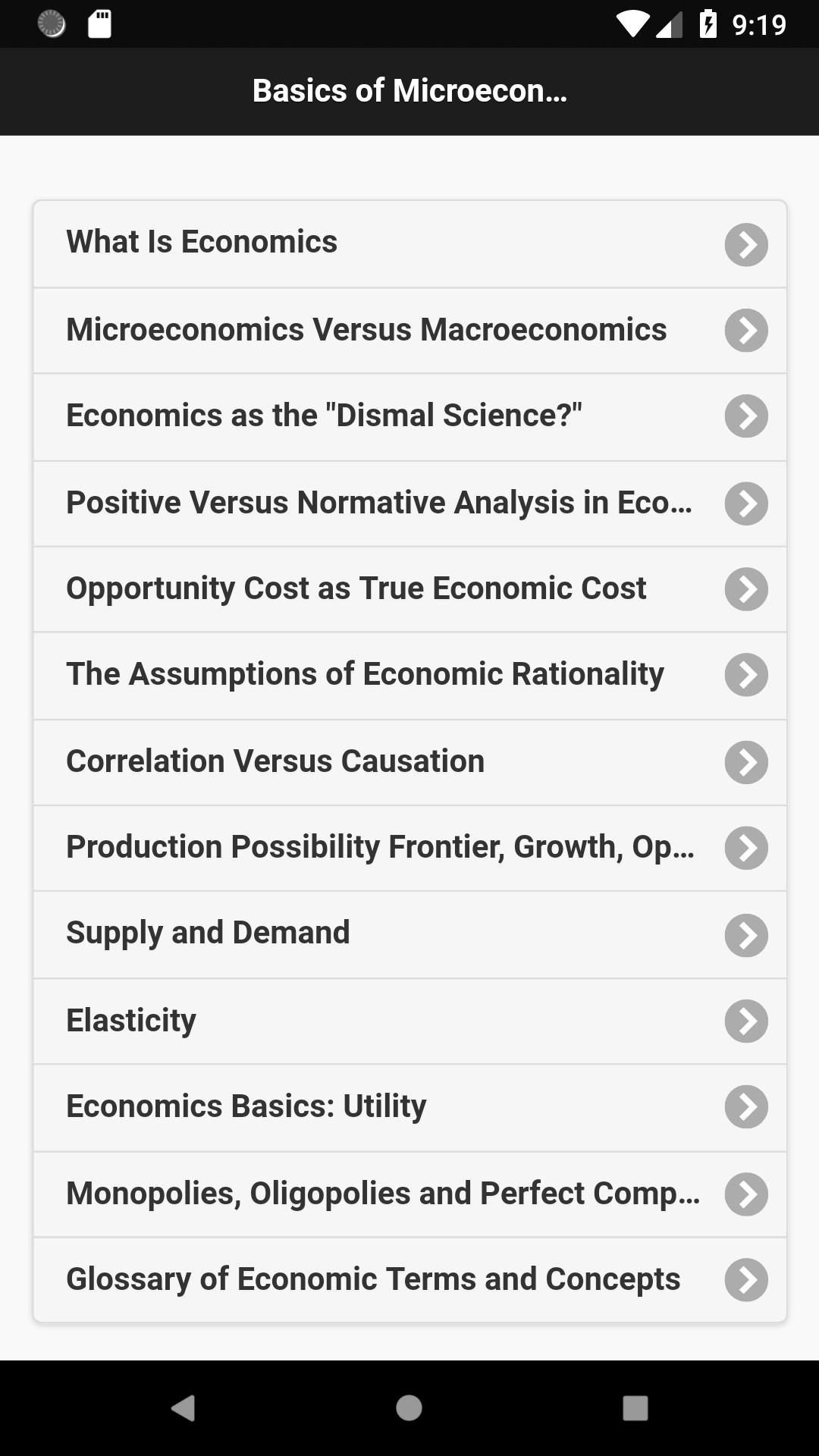 Basic Economics for Android - APK Download