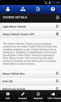 Dubai Driving Center screenshot 5
