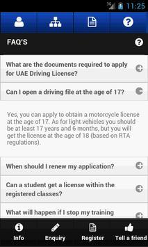 Dubai Driving Center screenshot 6