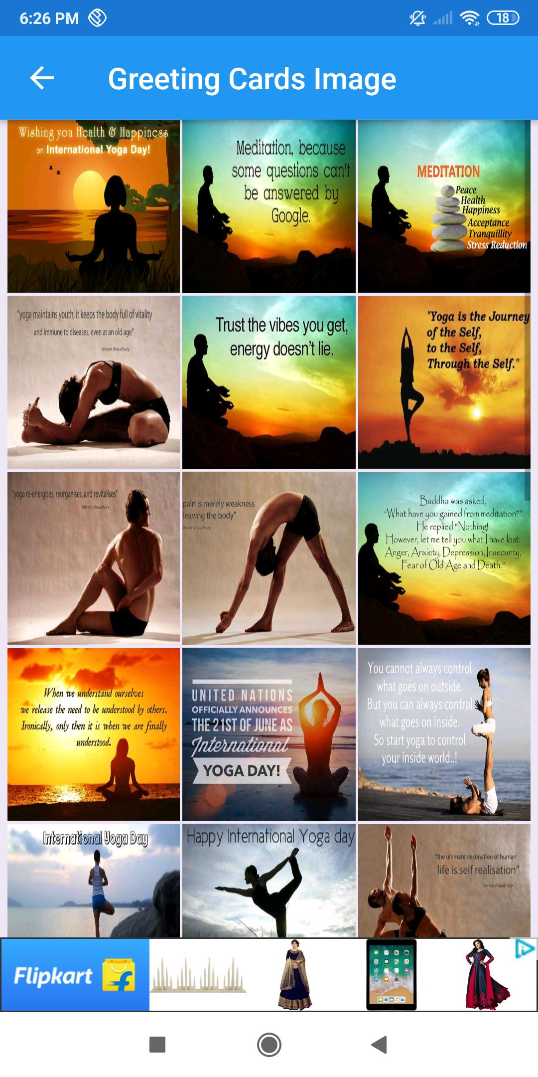 International Yoga Day Greeting Wishes Quotes Gif For Android Apk Download