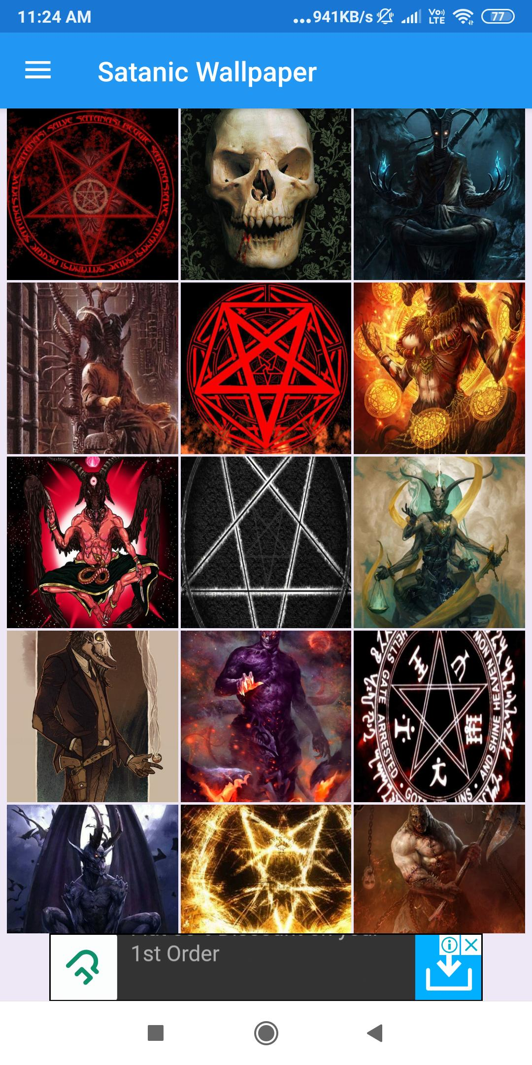 Satanic Wallpaper Hd Images Free Pics Download For Android Apk Download