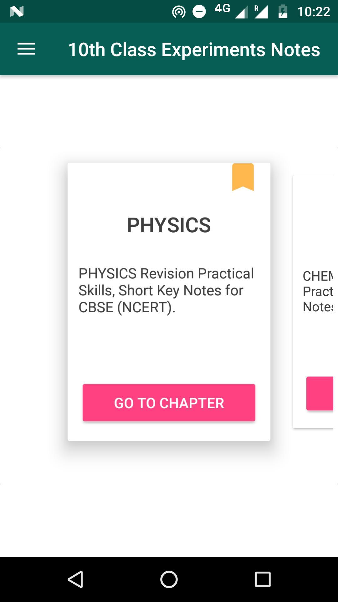 Class 10 Science Practicals Offline poster