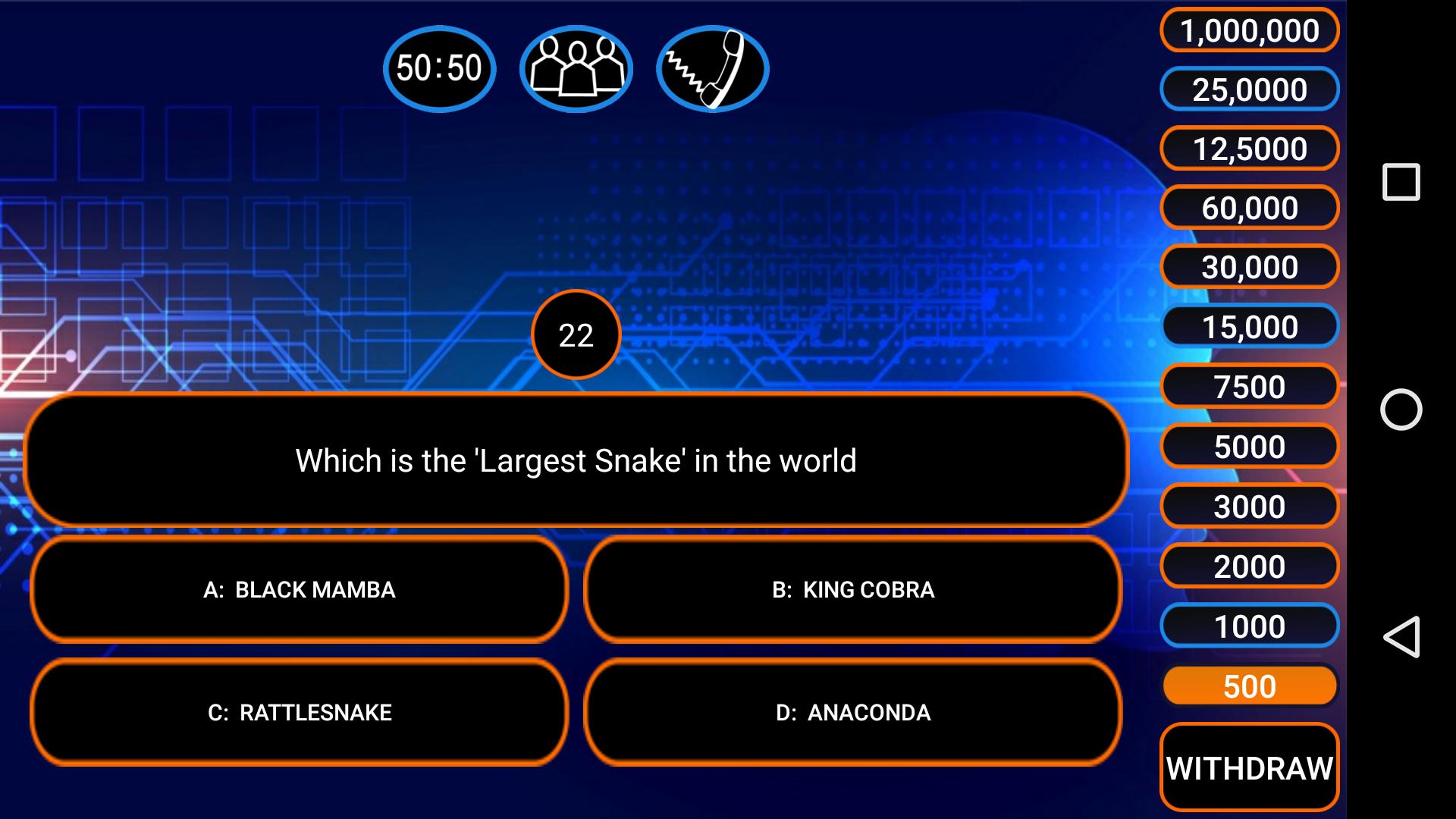 K KBC 2019 Ultimate Quiz in English & Hindi for Android - APK Download
