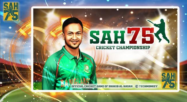 SAH75 Cricket Championship poster
