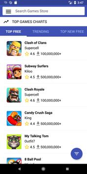 Games Store App Market poster