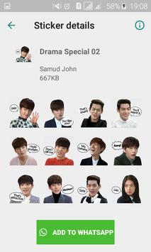 Sticker for Whatsapp (Korean Idol Theme) K-Pop screenshot 1