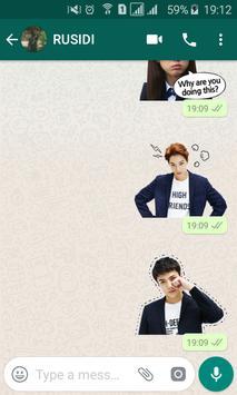 Sticker for Whatsapp (Korean Idol Theme) K-Pop screenshot 2
